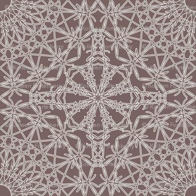 Crocheted Lace - Steel Grey