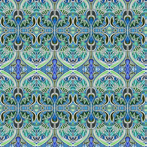 Nouveau Deco a Go Go fabric by edsel2084 on Spoonflower - custom fabric