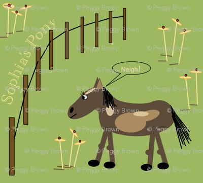 Sophia's Pony