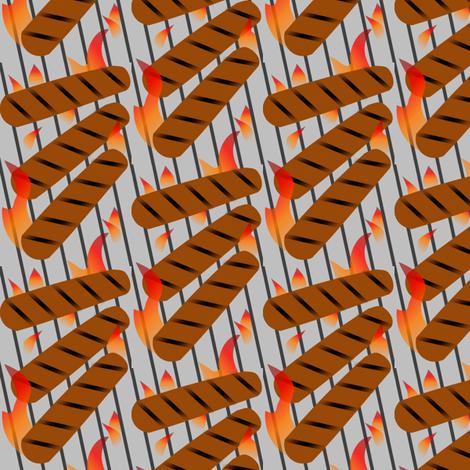 Heatin' Up fabric by lowa84 on Spoonflower - custom fabric