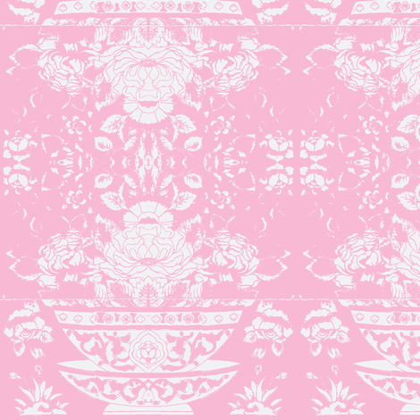 Chinese Tee Bowl rose fabric by miss_blümchen on Spoonflower - custom fabric