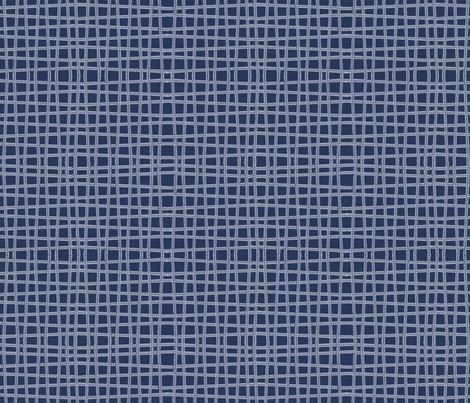 Twine - Blue fabric by kristopherk on Spoonflower - custom fabric