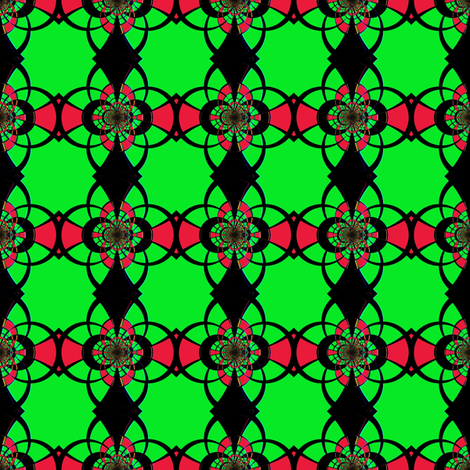 StainGlass-1 fabric by grannynan on Spoonflower - custom fabric