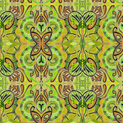 Butterfly Dance (hot mustard)
