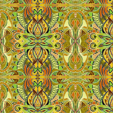 Pass the Mustard Charleston fabric by edsel2084 on Spoonflower - custom fabric