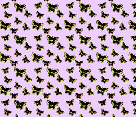 Butterflies In Flight fabric by corinnevail on Spoonflower - custom fabric