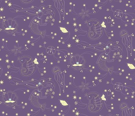 SeaFireworks fabric by designmagi on Spoonflower - custom fabric