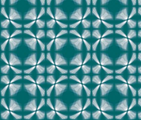 Brick_Teal_Window_Brick fabric by pd_frasure on Spoonflower - custom fabric