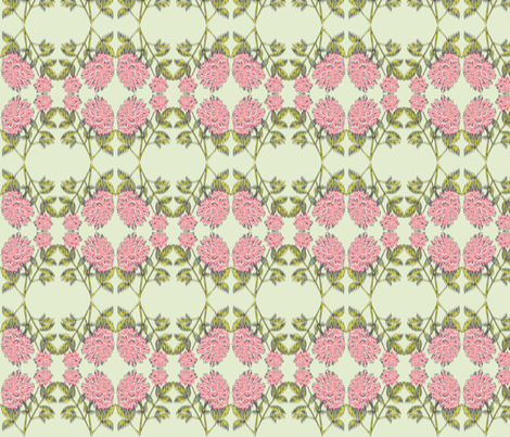 willow peony fabric by colie*leigh*designs on Spoonflower - custom fabric