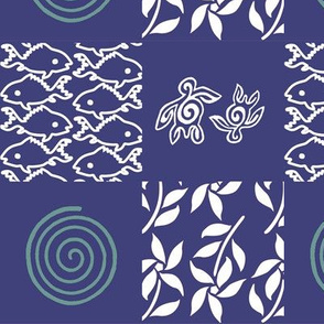 Swatch_test_cheater_quilt_blue-&-white-batik-patterns-for-gypsy-skirt