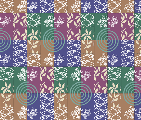 Swatch-test-_cheater_quilt_for--multicolor-gypsy-skirt1 fabric by mina on Spoonflower - custom fabric