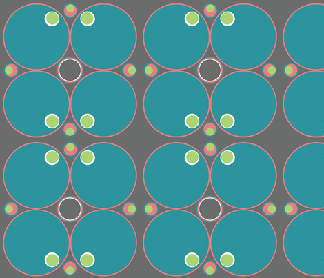 Circles Circles and Circles fabric by sprockit on Spoonflower - custom fabric