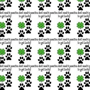 4 Paws get Lucky