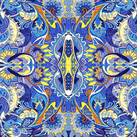 Butterfly Sky fabric by edsel2084 on Spoonflower - custom fabric