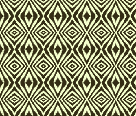 Organic Diamond fabric by bluenini on Spoonflower - custom fabric