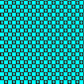 Coffee Checker Turquoise