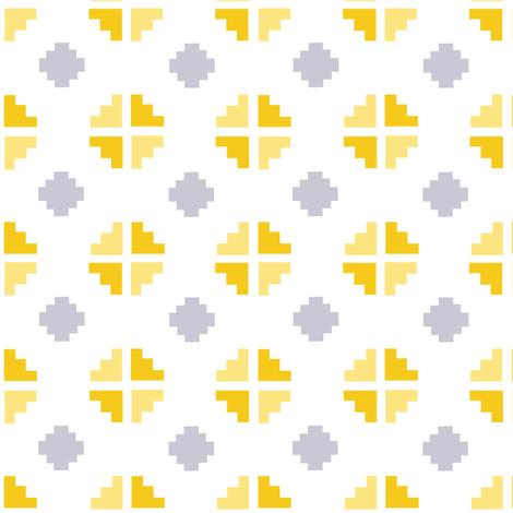El Tesoro (Flax) fabric by chezelle on Spoonflower - custom fabric