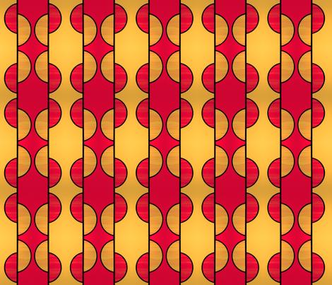 Art Deco King by Su_G fabric by su_g on Spoonflower - custom fabric