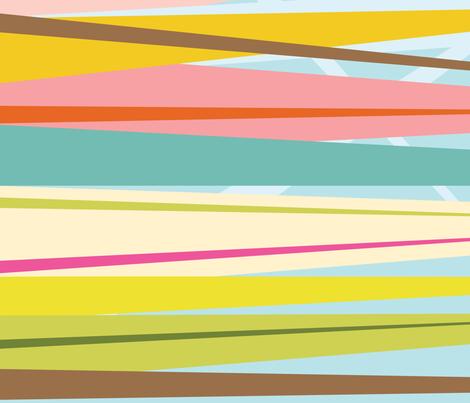 Dance All Day - striped yardage fabric by katrinazerilli on Spoonflower - custom fabric