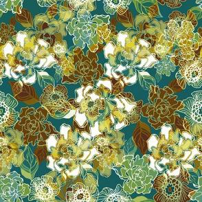Cloisonne Blooms
