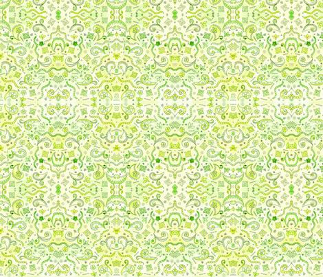 Lemon Lime fabric by poppydreamz on Spoonflower - custom fabric