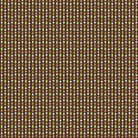 Bead Curtain - Coffee fabric by inscribed_here on Spoonflower - custom fabric