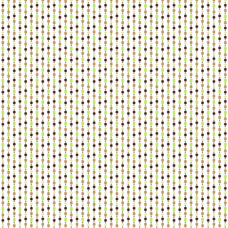 Bead Curtain - White fabric by inscribed_here on Spoonflower - custom fabric