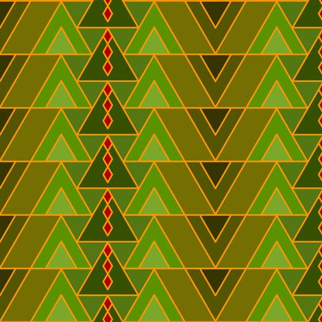 Deco Diamonds fabric by nekineko on Spoonflower - custom fabric