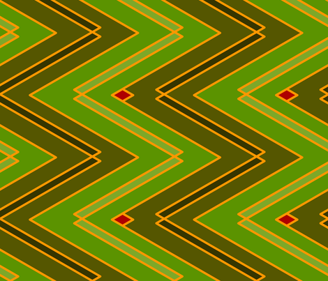 Zigzags (Light) fabric by nekineko on Spoonflower - custom fabric