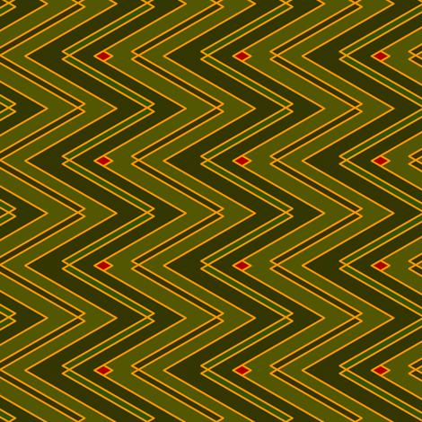Zigzags (Dark) fabric by nekineko on Spoonflower - custom fabric