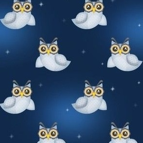 Owls in Line