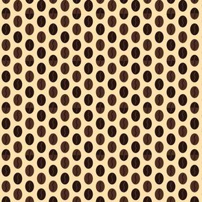 Coffee Bean Spot - Cream