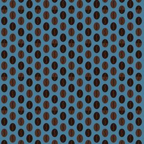 Coffee Bean Spot - Devon Blue