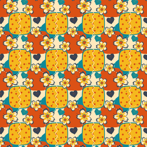 Patty's Love fabric by eppiepeppercorn on Spoonflower - custom fabric