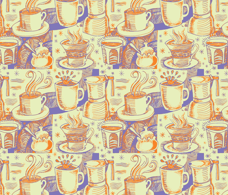 Another Cup! fabric by prosepine on Spoonflower - custom fabric