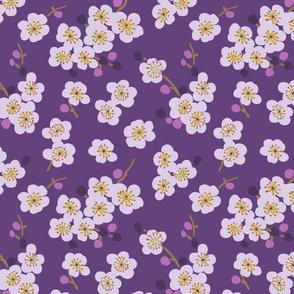 pear blossom purple