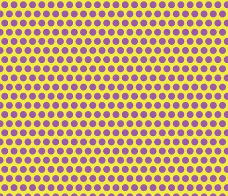 fun dot purple fabric by littlerhodydesign on Spoonflower - custom fabric