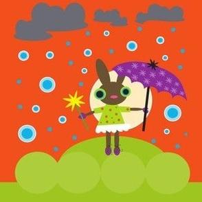 Rainy Bunny