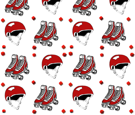Lucky Red fabric by lothar on Spoonflower - custom fabric