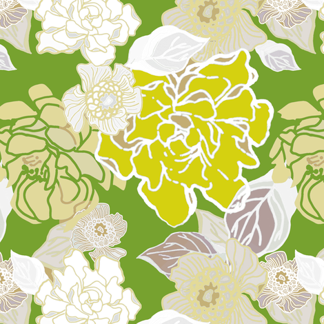 Jungle Fog fabric by joanmclemore on Spoonflower - custom fabric