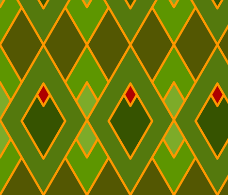 Argyle (Light) fabric by nekineko on Spoonflower - custom fabric