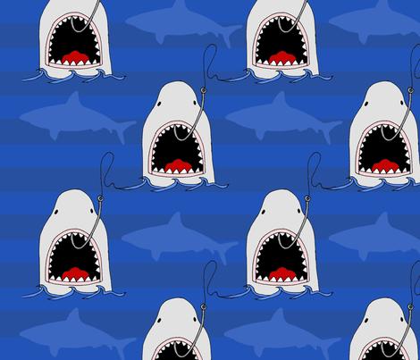 Shark_Fabric_Contest3 fabric by erin_kaiser on Spoonflower - custom fabric