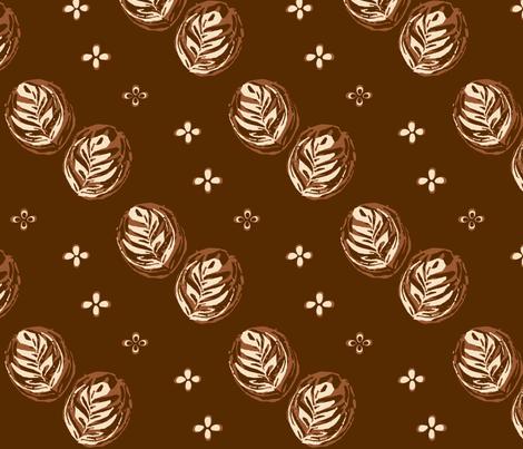 Barista Artista fabric by haleystudio on Spoonflower - custom fabric