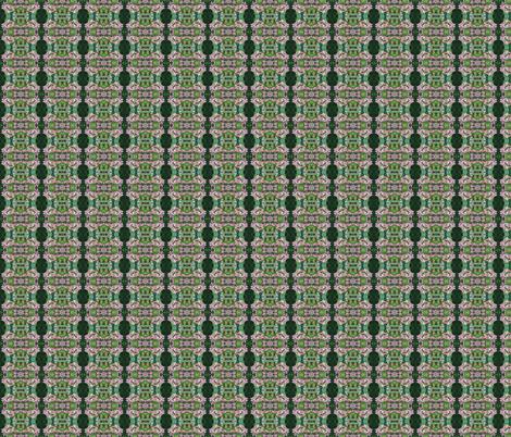 garden geometric (smaller) fabric by handmadebyclairebear on Spoonflower - custom fabric
