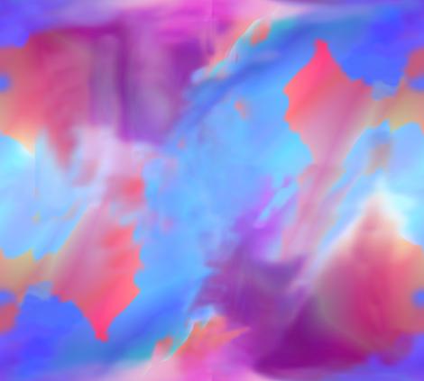 Blue Shadows fabric by itsnaart_fabrics on Spoonflower - custom fabric
