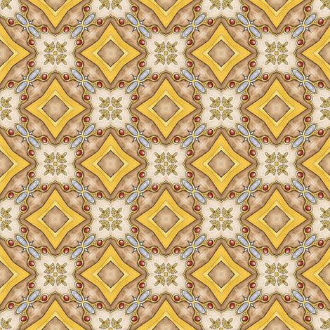 Treasure Tiles fabric by siya on Spoonflower - custom fabric