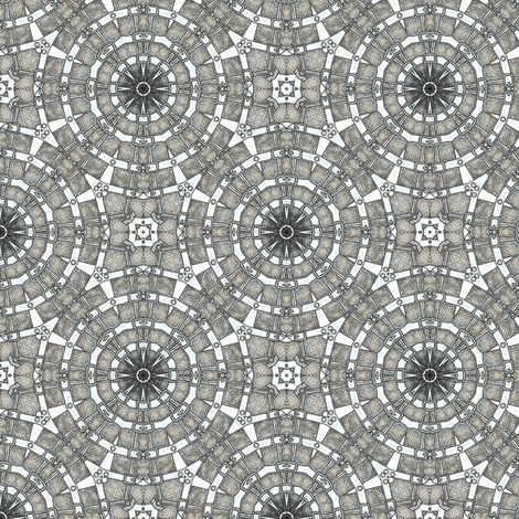Waiteri's Web fabric by siya on Spoonflower - custom fabric