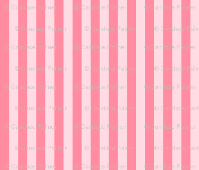 Stripes hot pink on pink.