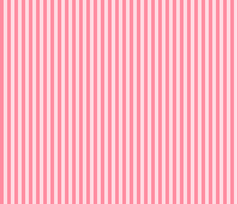 Stripes hot pink on pink. fabric by graphicdoodles on Spoonflower - custom fabric