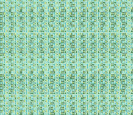 Leaflets - tiny print fabric by acbeilke on Spoonflower - custom fabric